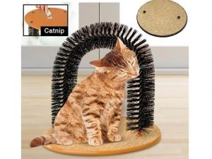 Cat Kitten Massaging Scratching Scratcher Review