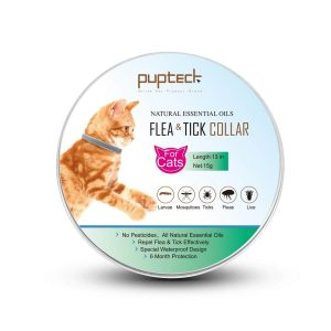 PUPTECK Cat Flea Collar with Tick