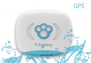 Futureway Mini GPS Pet Tracker for Dogs and Cats
