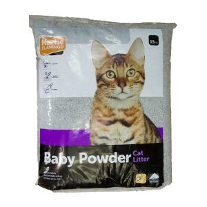 Karlie Flamingo Cat Litter Baby Powder