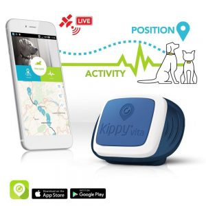 Kippy Pet GPS Tracker for Dogs and Cats