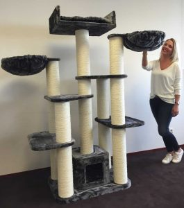 RHR Quality Cat Scratching Post and Activity Centre