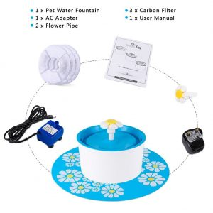 YOUTHINK Auto Circulating 1.6L Silent Pet Fountain Review